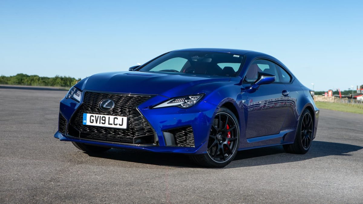 2020 Lexus RC F review - front | The Car Expert
