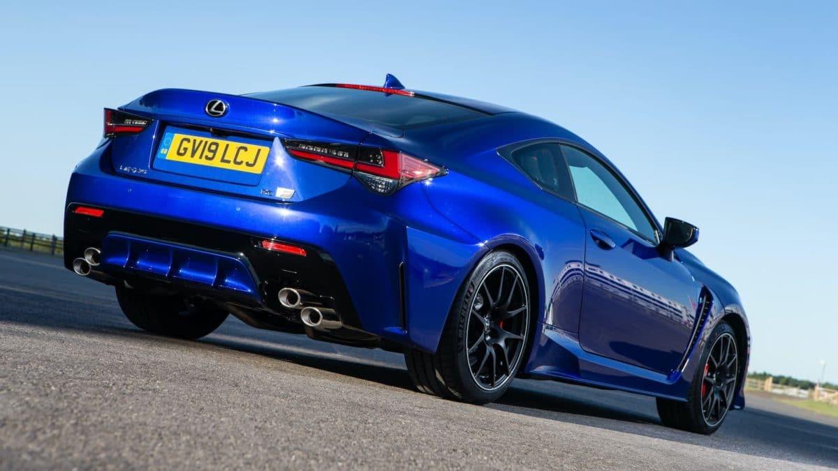 2020 Lexus RC F review - rear | The Car Expert