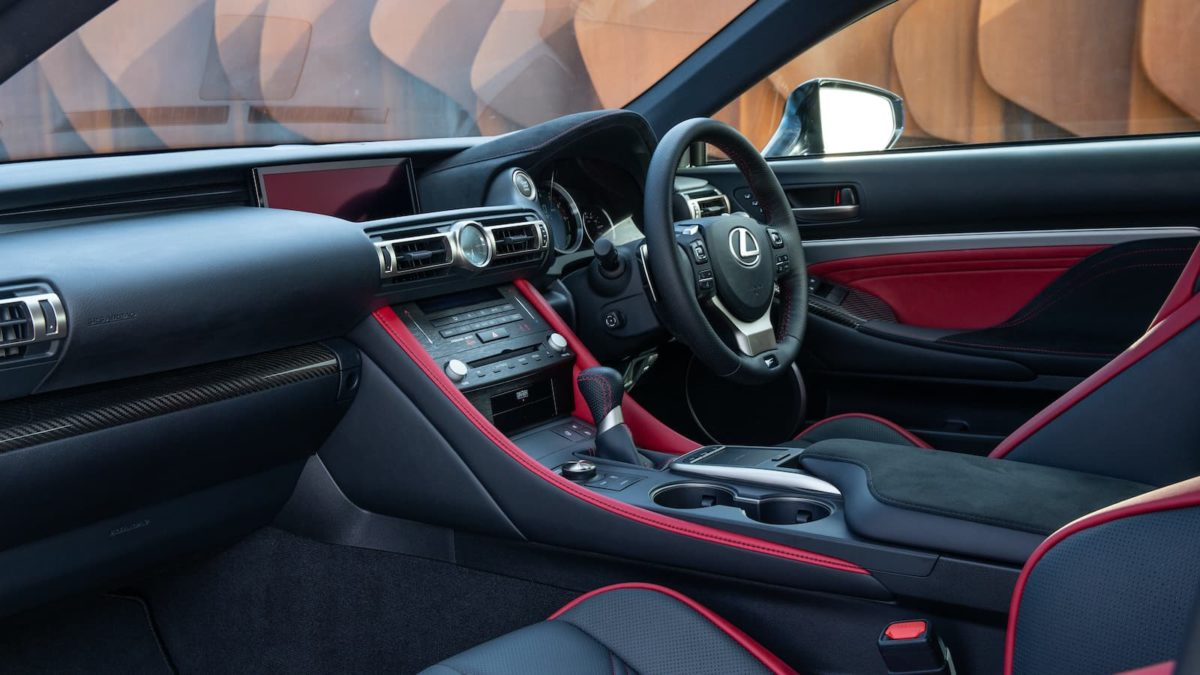 2020 Lexus RC F review - interior and dashboard | The Car Expert