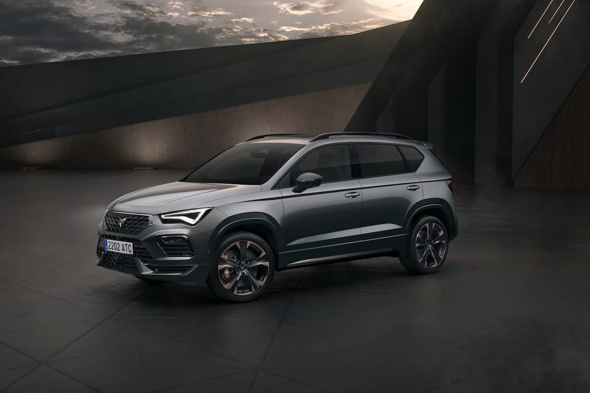 Cupra Ateca (2020 onwards) – front view