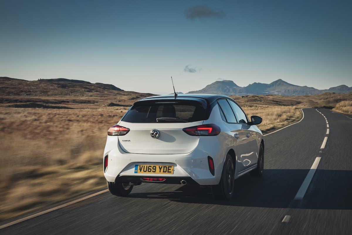 Vauxhall Corsa (2020 - present) - rear   The Car Expert