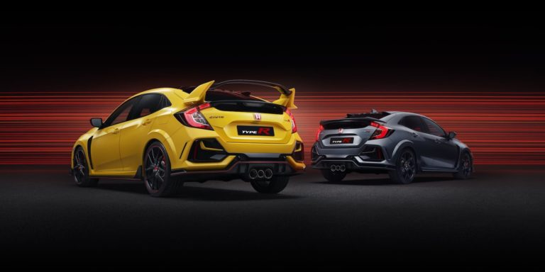 Refreshed Honda Civic Type R adds hardcore and stealthier versions