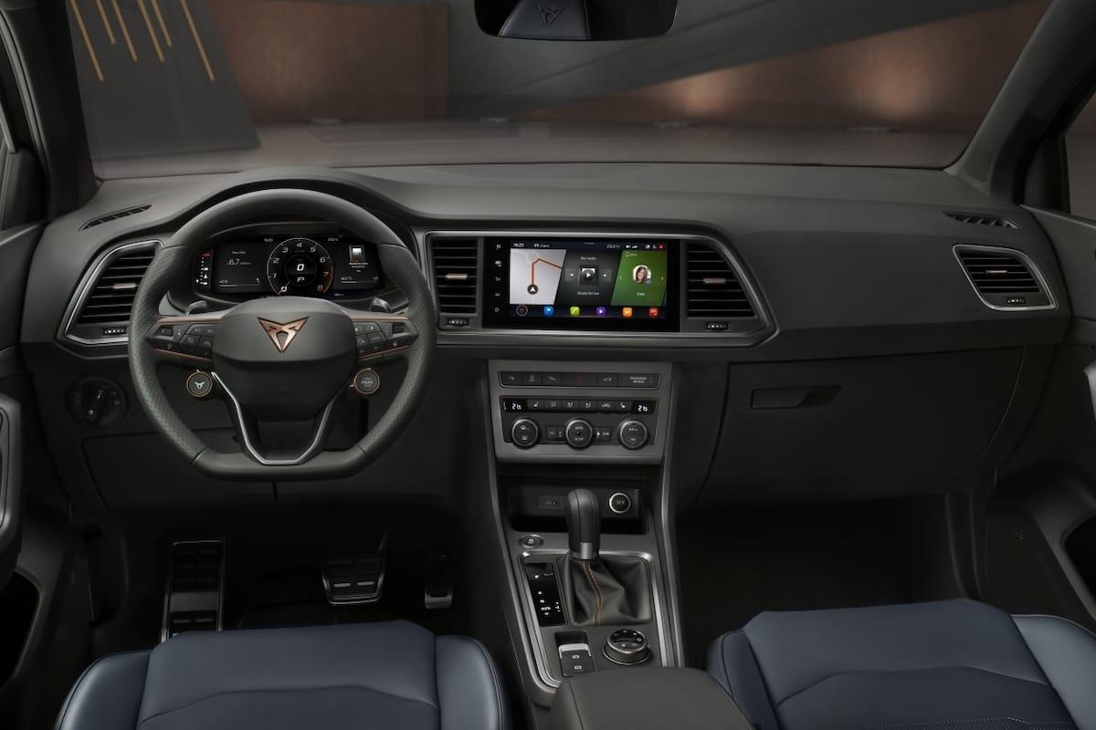 Cupra Ateca (2020 onwards) - dashboard