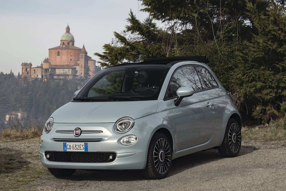 Fiat 500 Hybrid review - front   The Car Expert