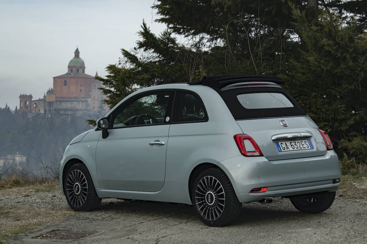 Fiat 500 Hybrid review - rear   The Car Expert