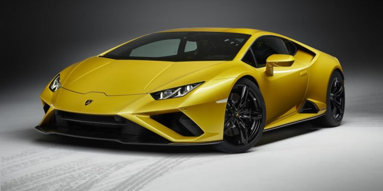 Lamborghini introduces rear-driven Huracan Evo variant