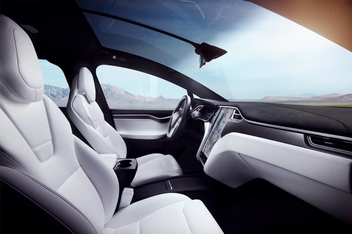 Tesla Model X - interior   The Car Expert