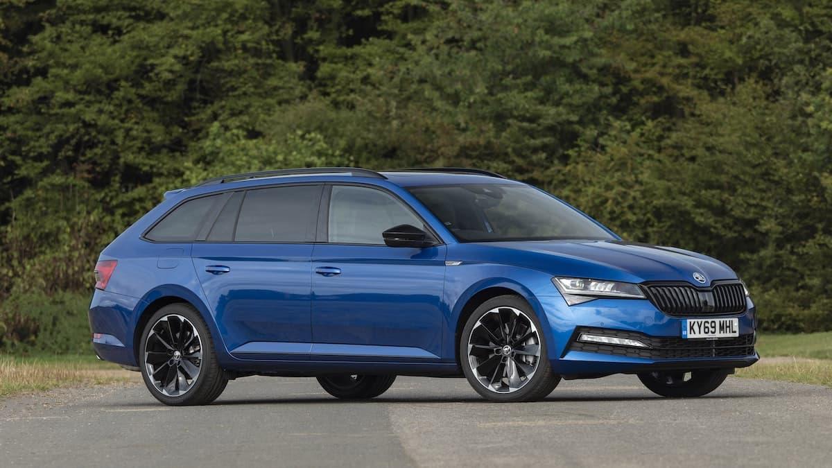 Skoda Superb Estate review - front | The Car Expert