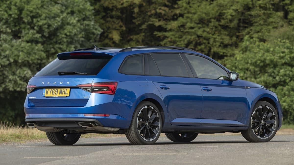 Skoda Superb Estate review - rear | The Car Expert