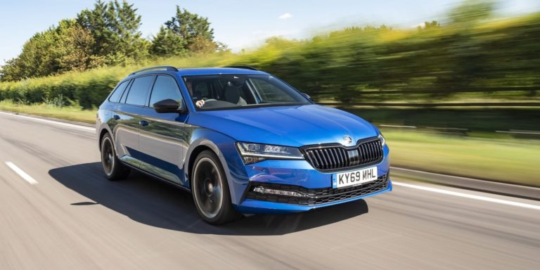 Skoda Superb Estate test drive
