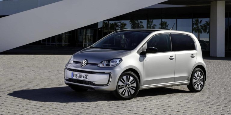 Updated Volkswagen e-Up arrives with more range