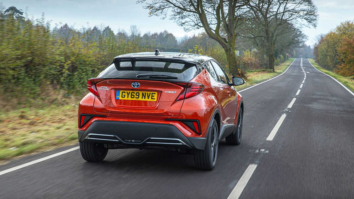 2020 Toyota C-HR road test - rear | The Car Expert