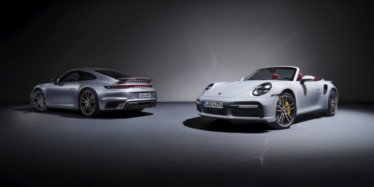 Porsche 911 Turbo S revealed with 650hp