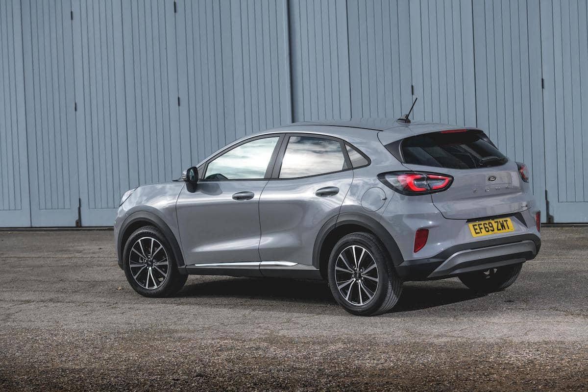 Ford Puma (2020) rear view | The Car Expert