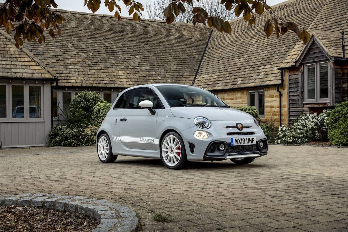 Abarth 595 Esseesse review - front