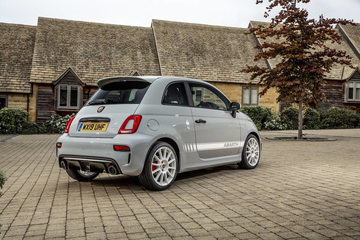 Abarth 595 Esseesse review - rear