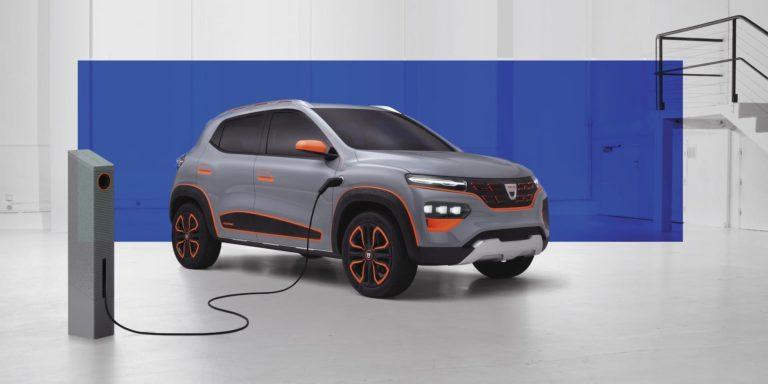 Dacia Spring Electric concept previews upcoming EV
