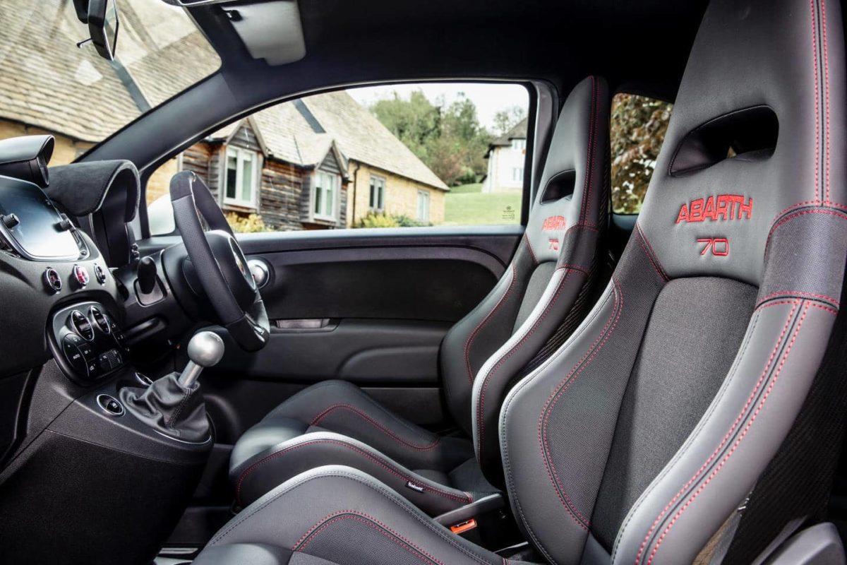 Abarth 595 Esseesse review - interior
