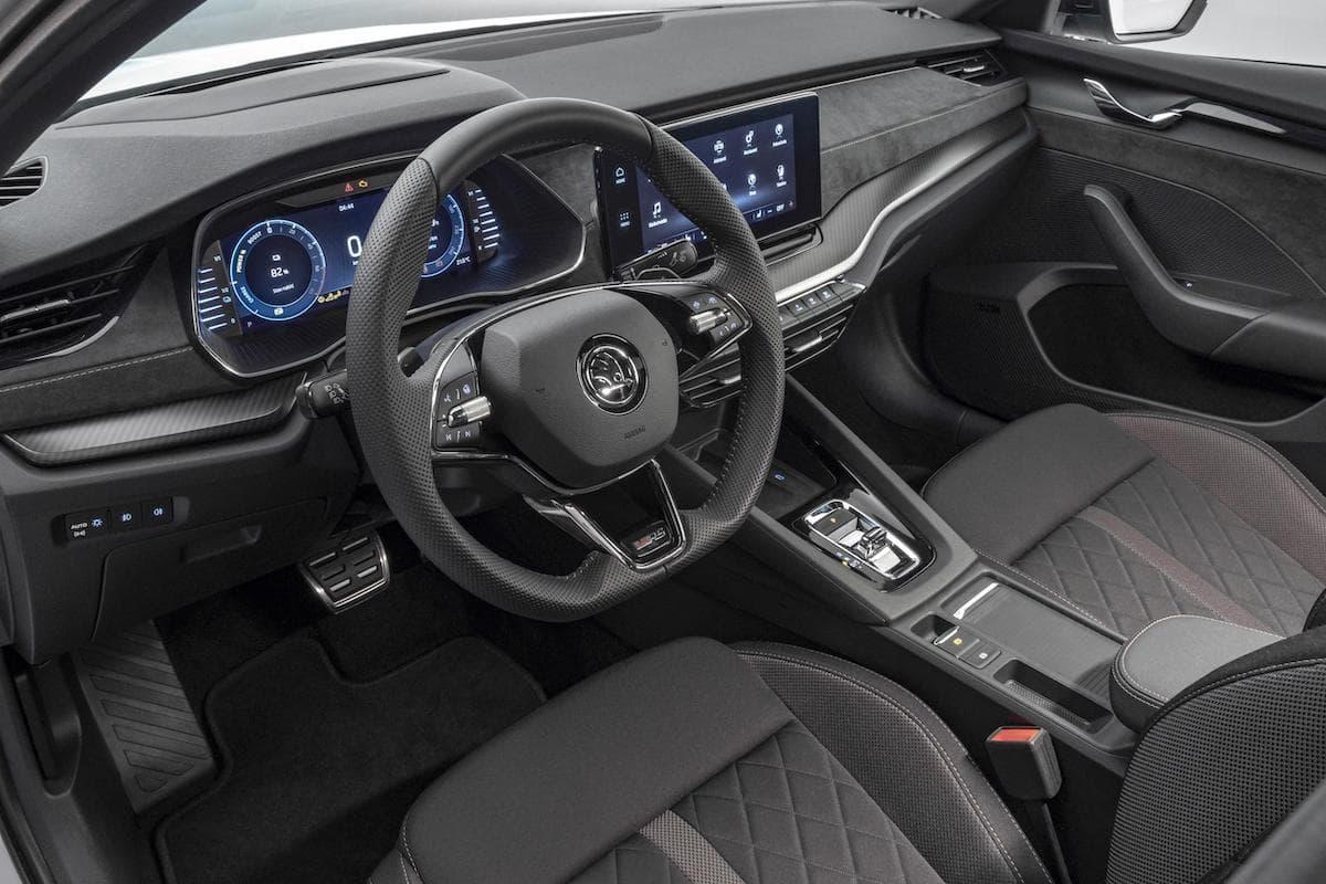 Skoda Octavia vRS iV - interior