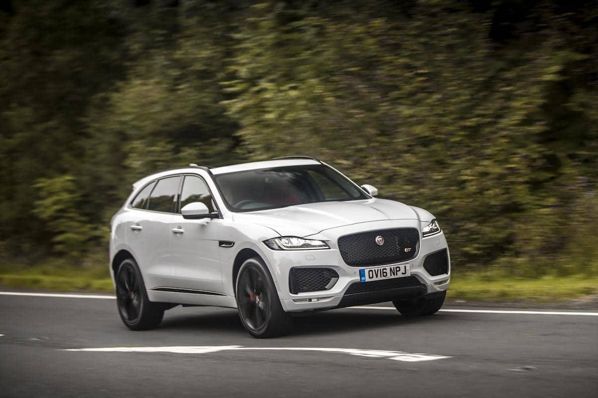 Jaguar F-Pace (2016 - 2020) - front