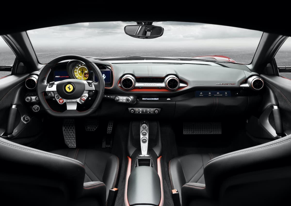 Ferrari 812 Superfast (2017 onwards) - interior