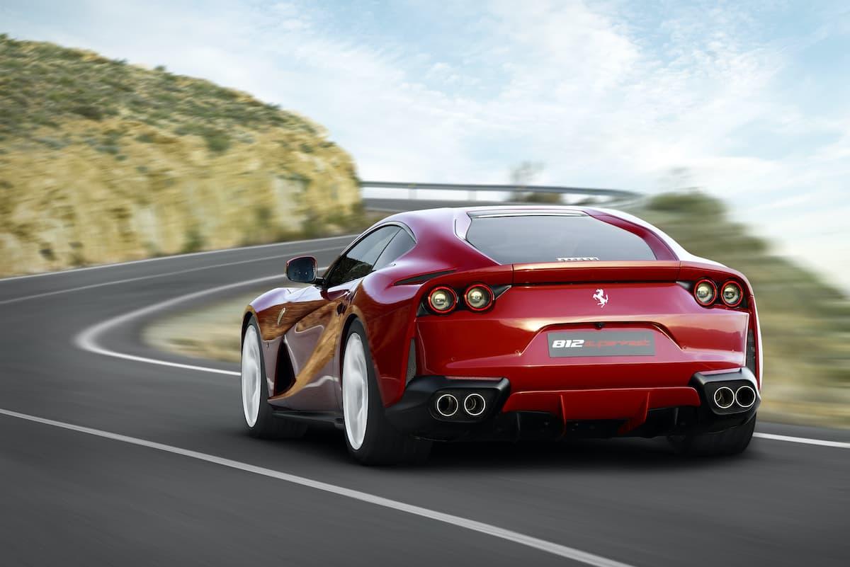 Ferrari 812 Superfast (2017 onwards) - rear | The Car Expert