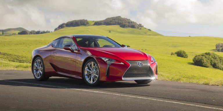 Lexus LC upgraded for more comfort
