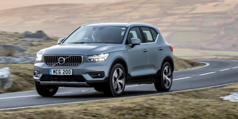 Volvo XC40 Recharge plug-in hybrid test drive
