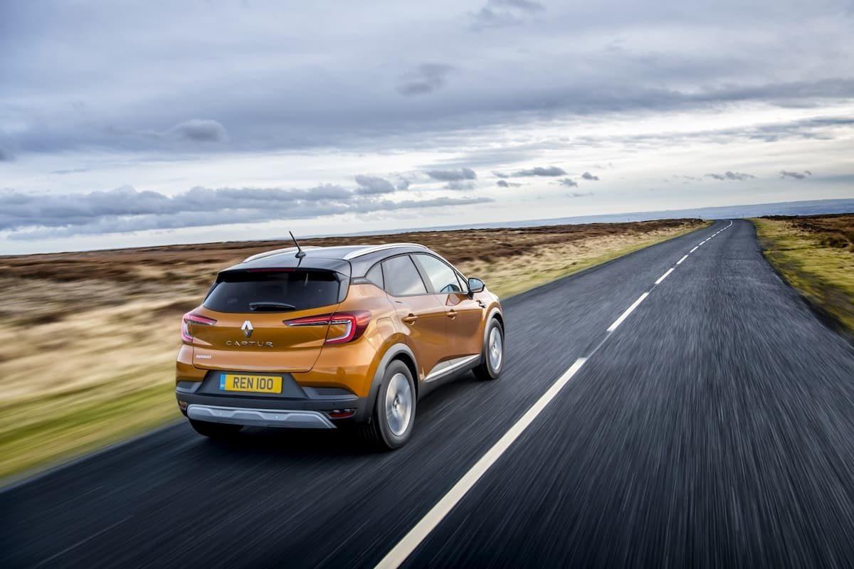 Renault Captur (2019 onwards) - rear