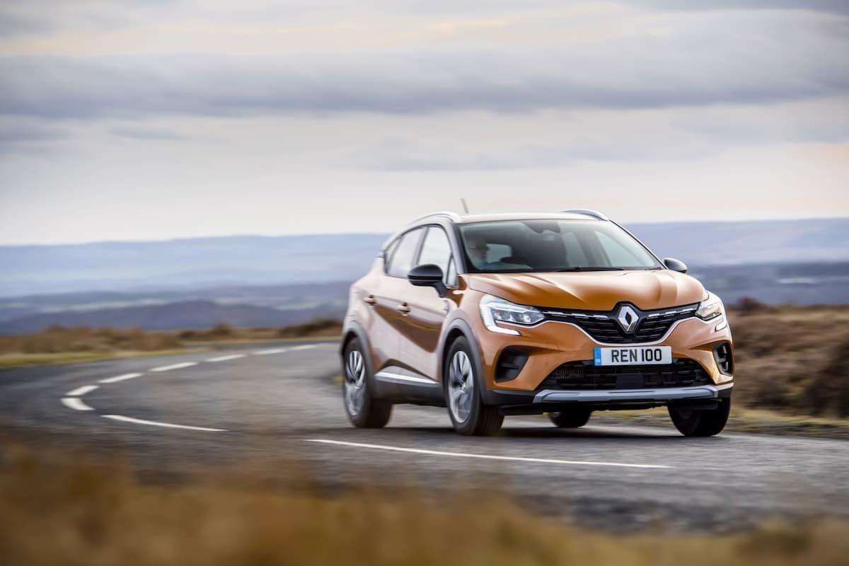 Renault Captur (2019 onwards) - front