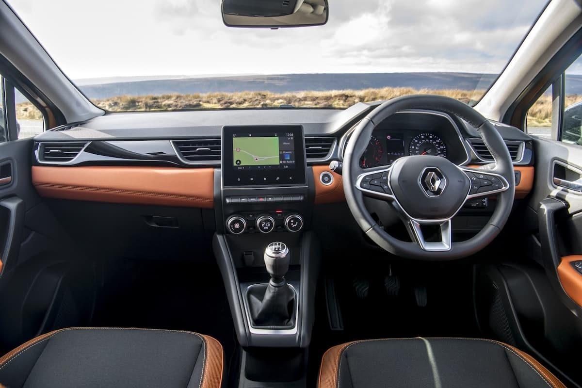 Renault Captur (2019 onwards) - interior and dashboard