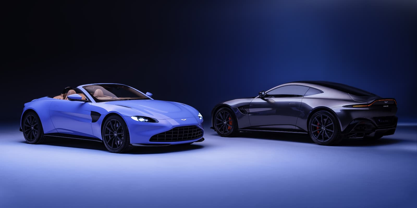 2020 Aston Martin Vantage Roadster and coupe