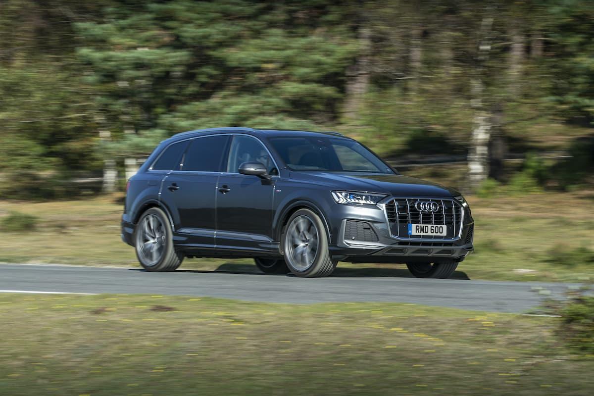Audi Q7 (2019) - front