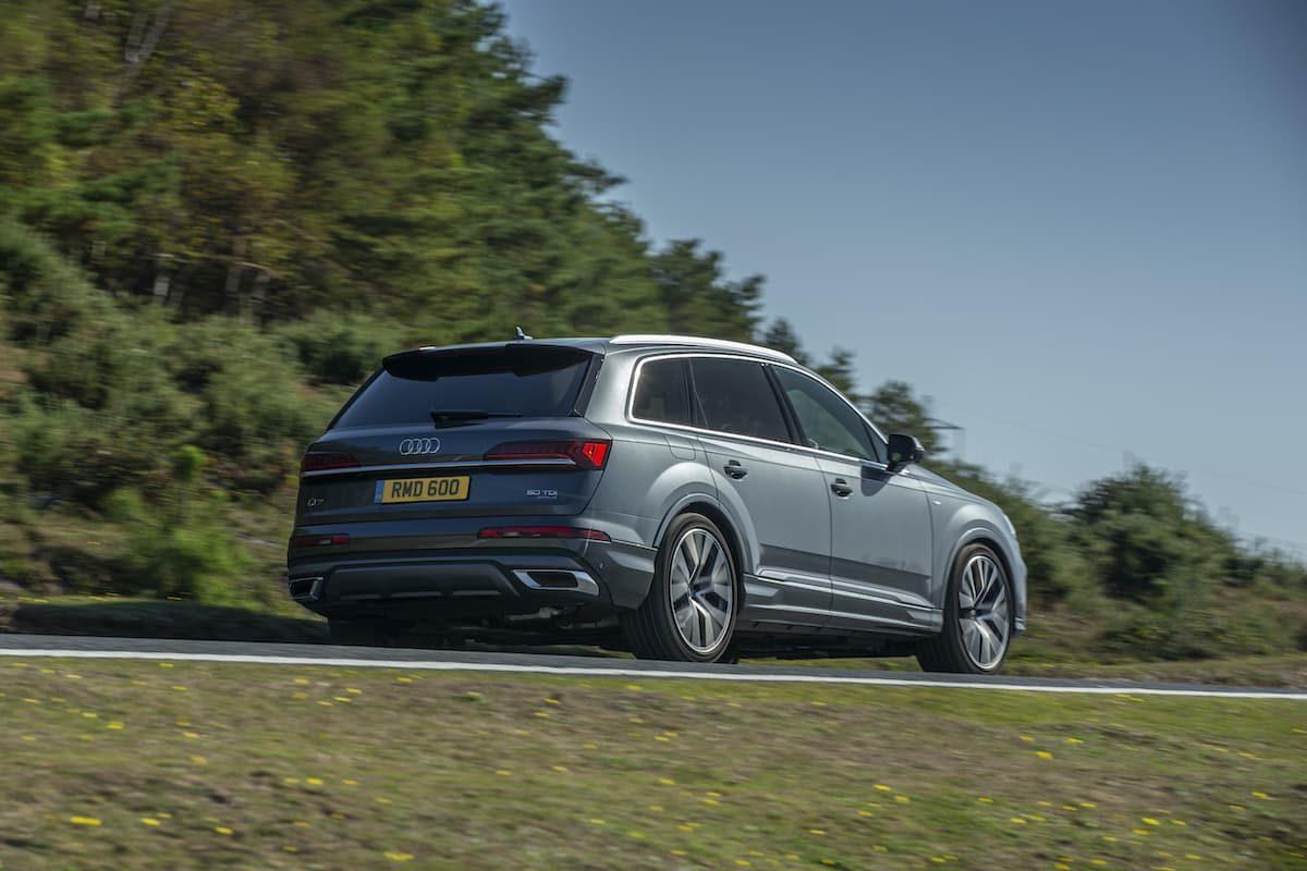 Audi Q7 (2019) - rear
