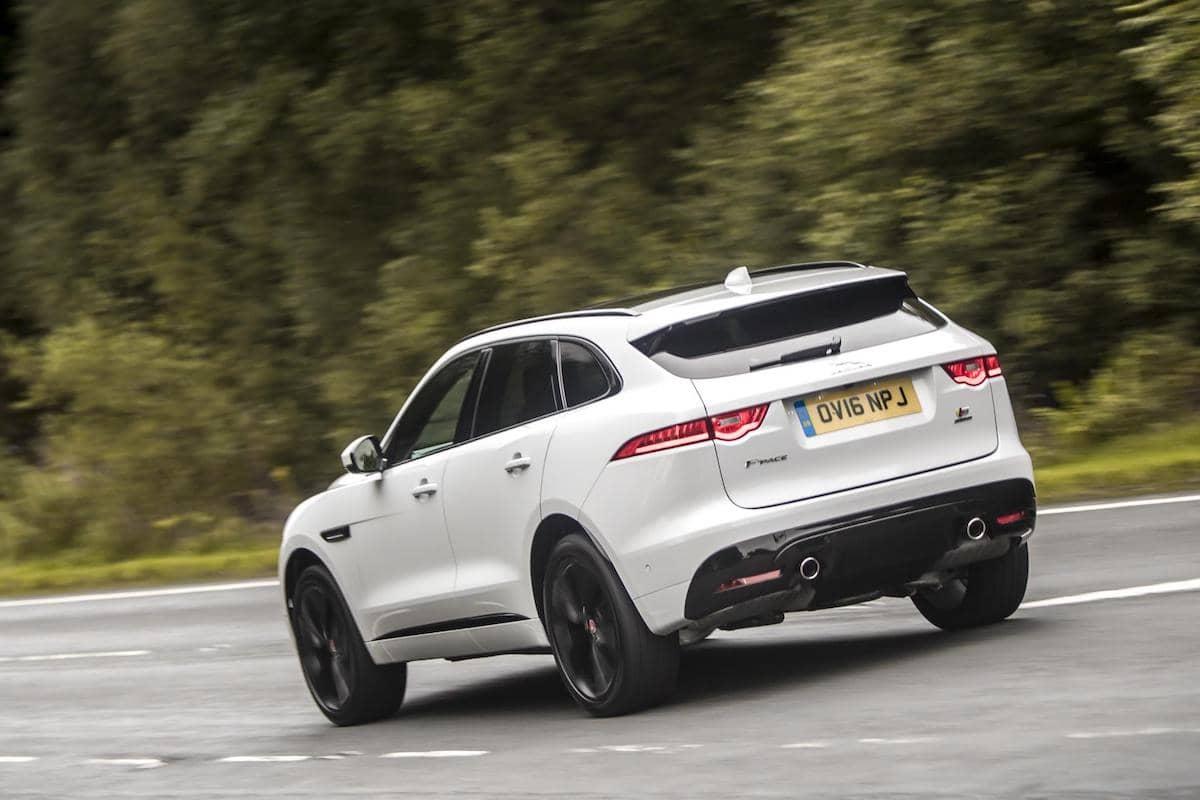 Jaguar F-Pace (2016 - 2020) - rear