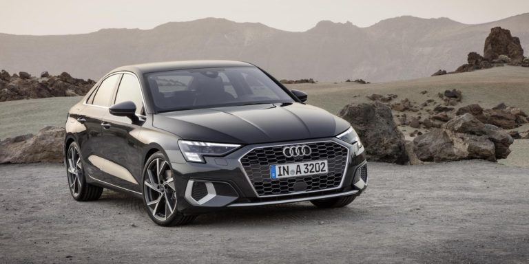 Say hello to the second-generation Audi A3 saloon