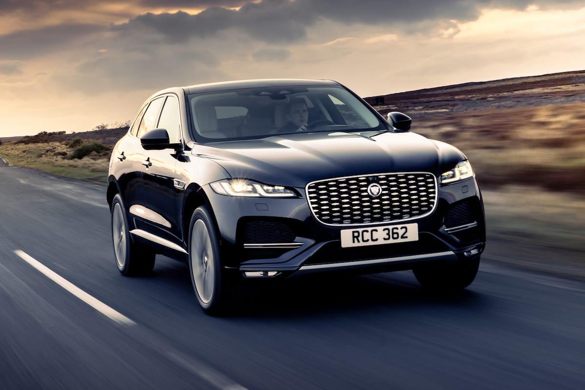 Jaguar F-Pace (2020 facelift) - front view
