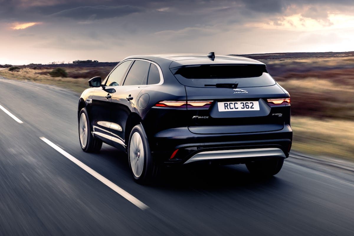 Jaguar F-Pace (2020 facelift) - rear view