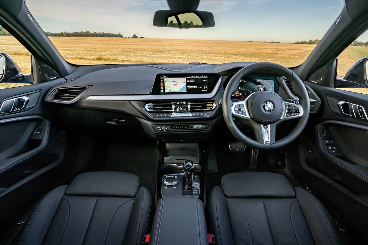 BMW 1 Series (2019 onwards) - interior and dashboard