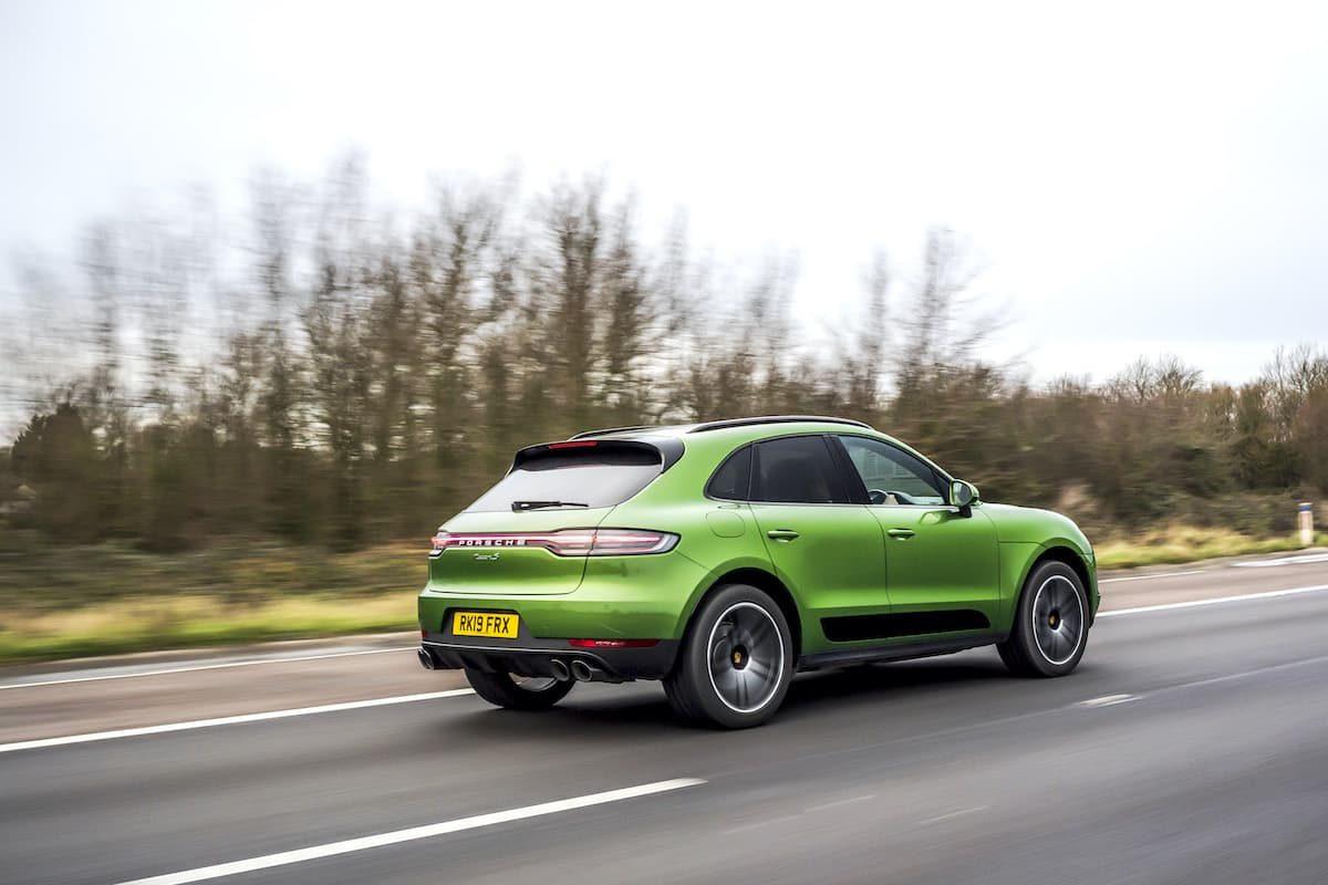 Porsche Macan (2014 onwards) - rear