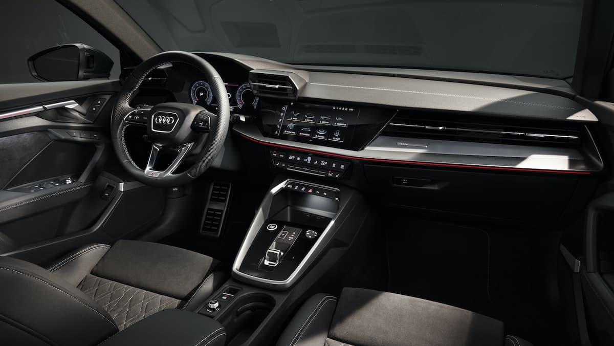 2020 Audi A3 saloon - interior and dashboard