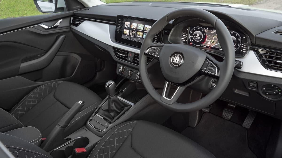 Skoda Kamiq review –interior and dashboard