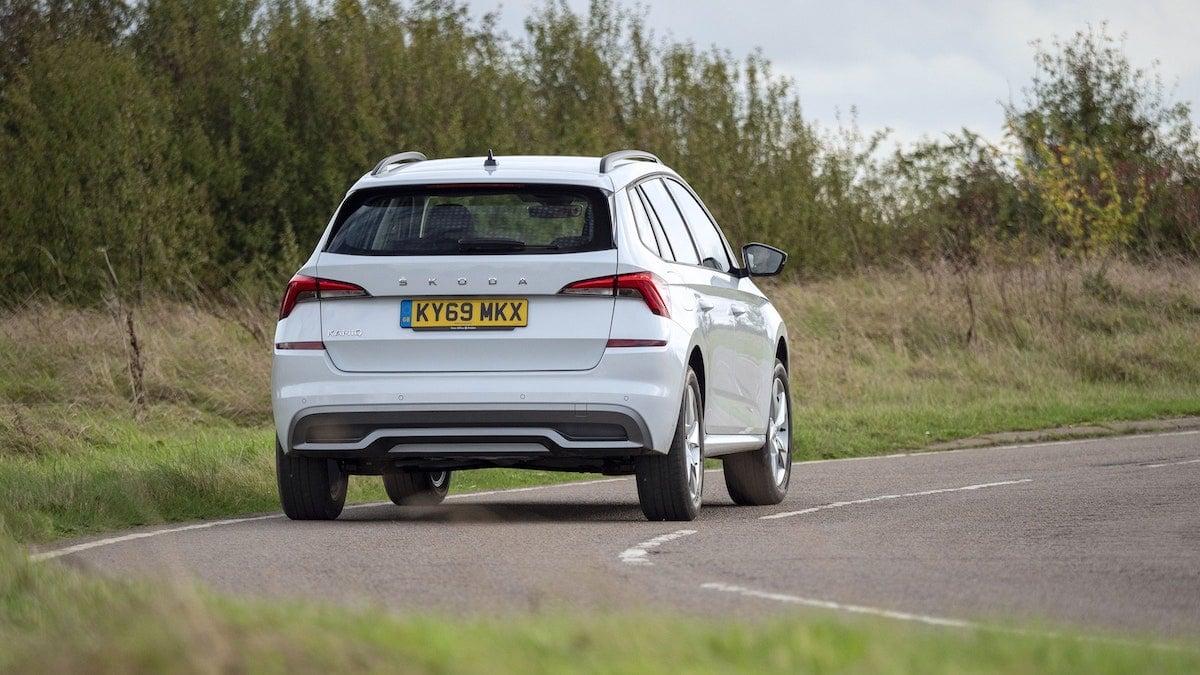 Skoda Kamiq road test – rear