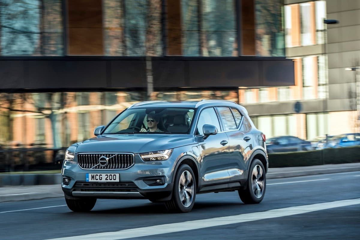 Volvo XC40 Recharge T5 plug-in hybrid - road test, front
