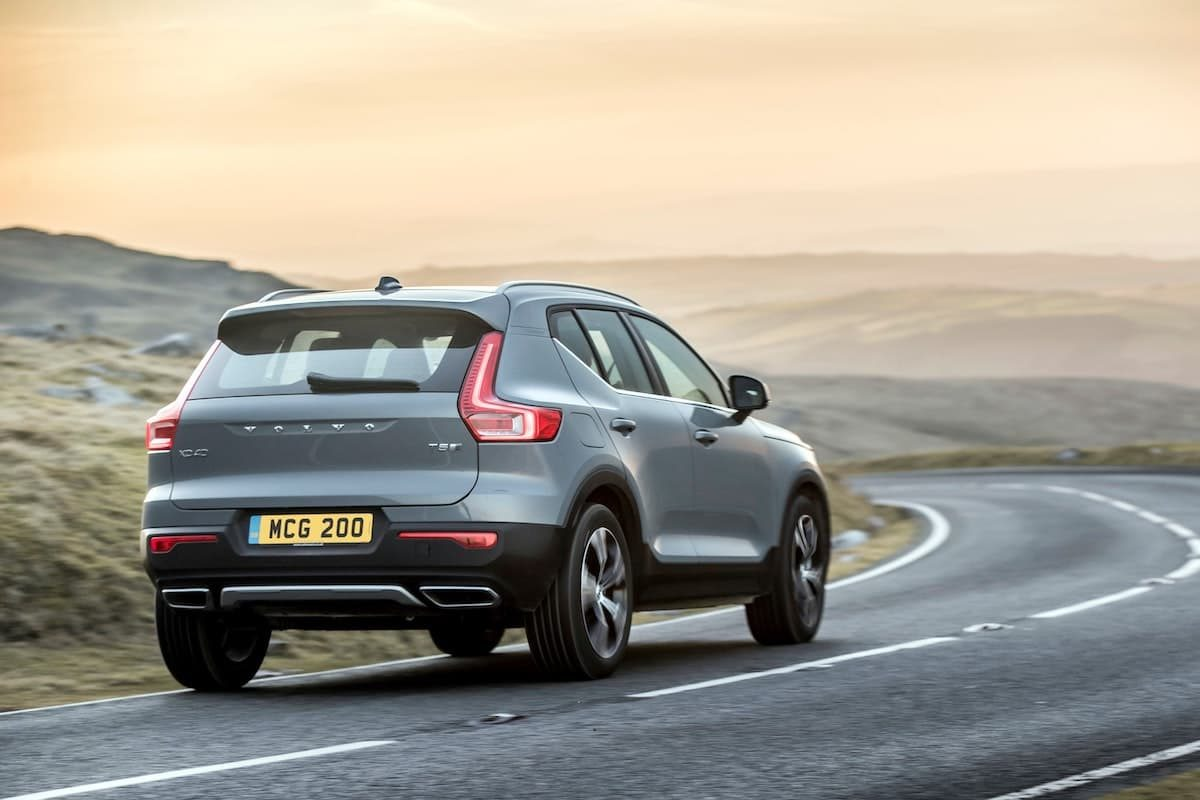 Volvo XC40 Recharge T5 plug-in hybrid - road test, rear