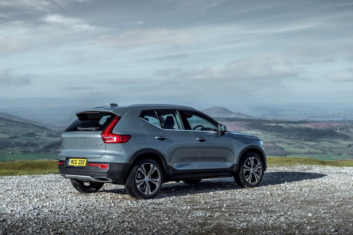 Volvo XC40 Recharge T5 plug-in hybrid - rear