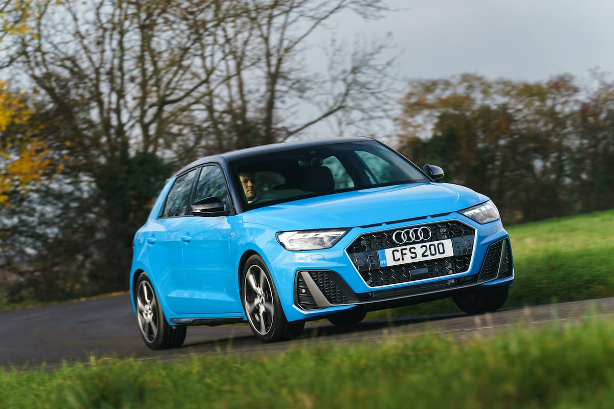 Audi A1 (2018 onwards) - front view