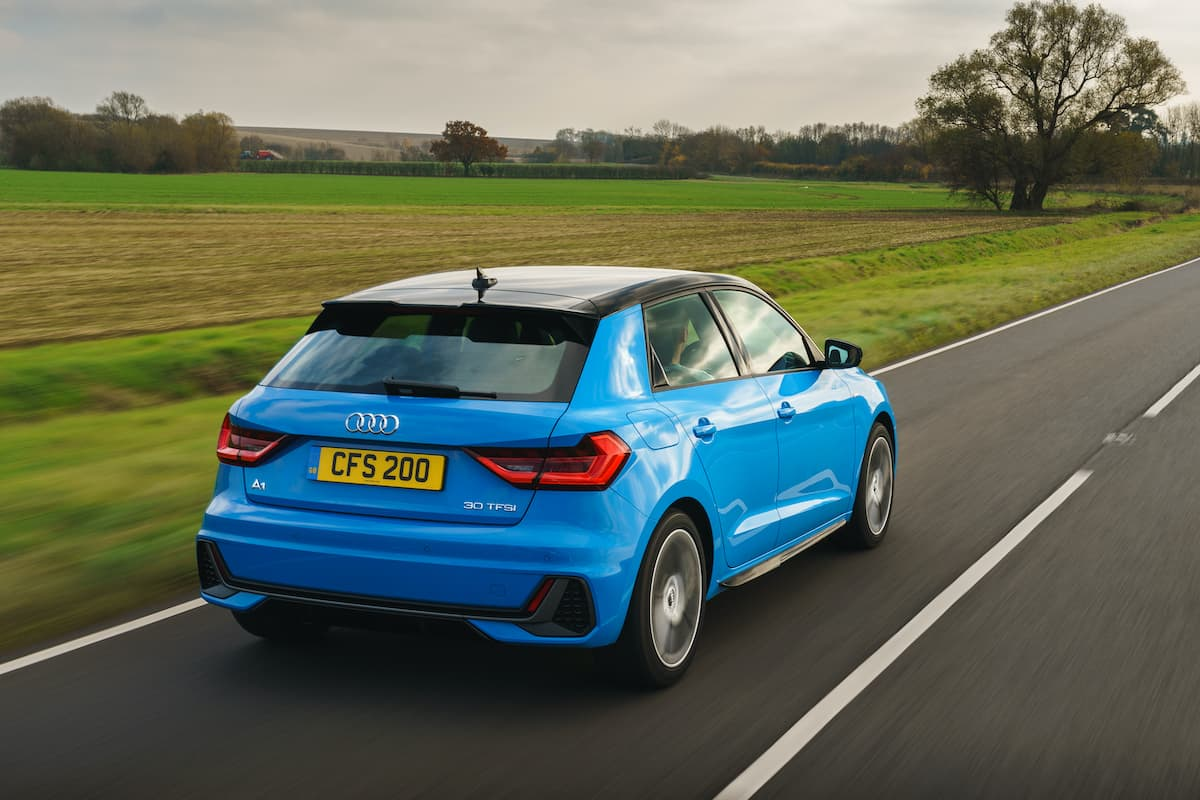 Audi A1 (2018 onwards) - rear view