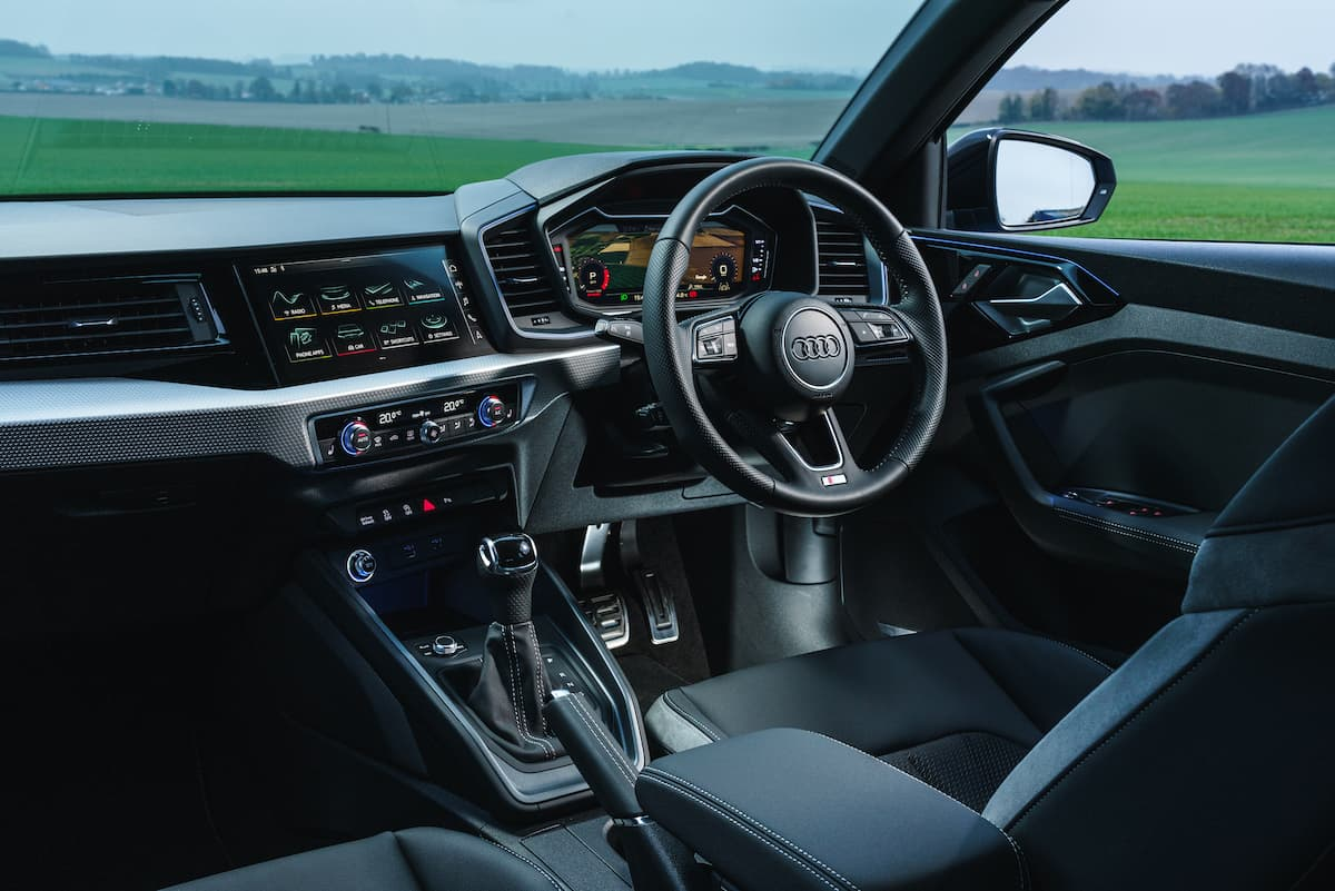 Audi A1 (2018 onwards) interior and dashboard