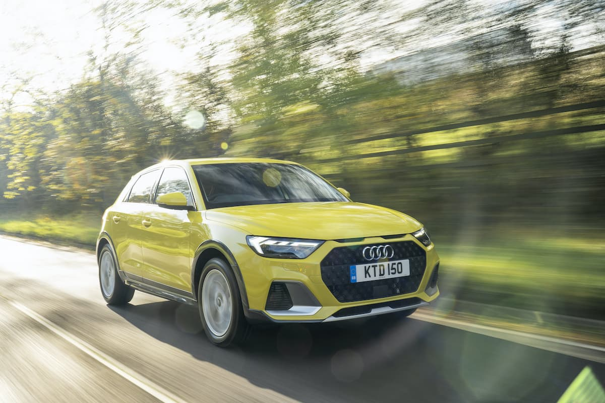 Audi A1 Citycarver (2018 onwards) - front view